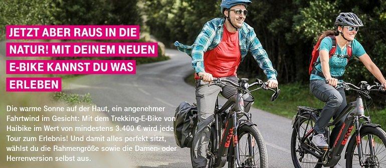 Haibike Trekking E-Bike Telekom
