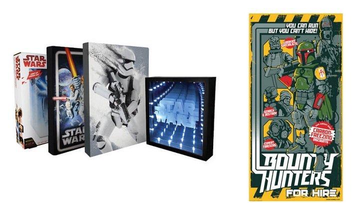 Star Wars Wand Art Mega Paket für 30,48€ oder Fine-Art Druck für 41,48€