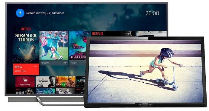 """Philips 65PUS8602 65"""" QLED 4K Fernseher mit 3-fachem Ambilight für 1.299€"""