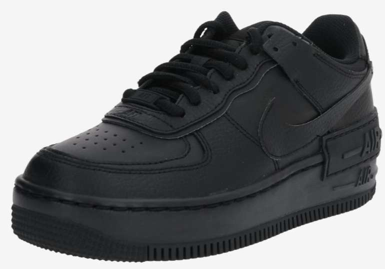"Nike Air Force 1 Shadow Sneaker im ""All Black""-Colourway für 81,75€ inkl. Versand (statt 110€)"