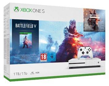 Microsoft Xbox One S Bundles mit 1TB ab je nur 166€, z.B. inkl. Battlefield V