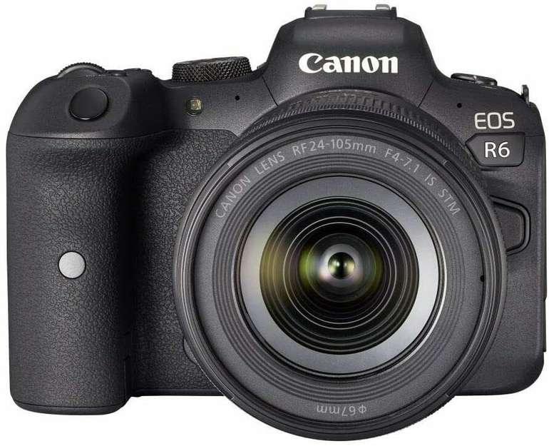 Canon Eos R6 20.1MP KIT RF 24-105mm Systemkamera für 2.499,00€ inkl. Versand (statt 2704€)