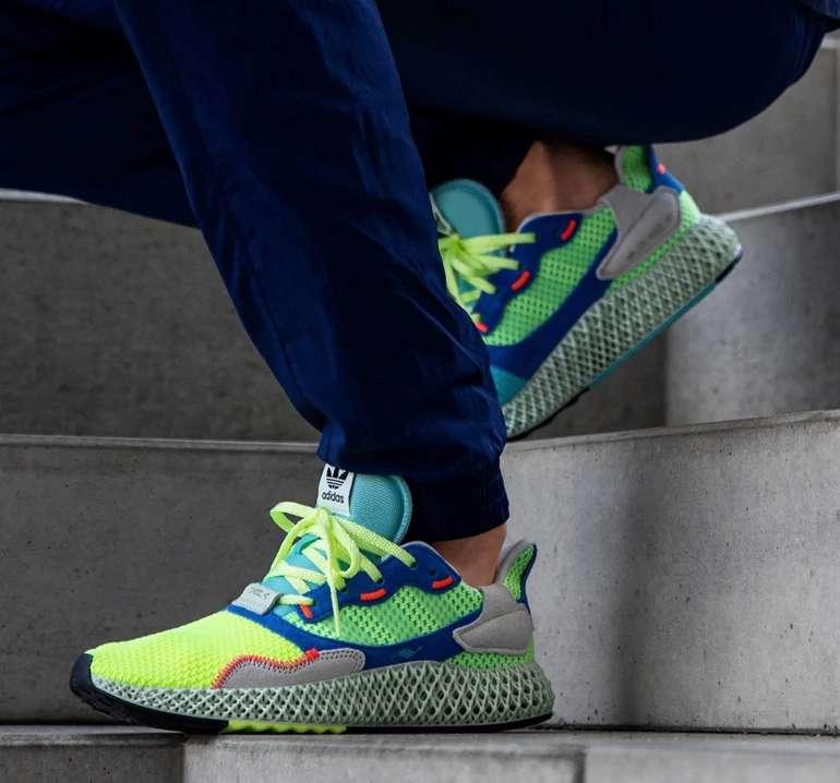 """Adidas ZX 4000 4D Herren Sneaker im """"Hi-Res Yellow / Linen Green / Easy Mint""""-Colourway für 138,76€"""