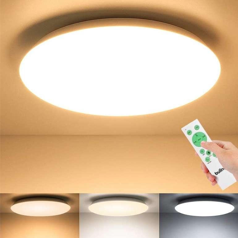 Buling 24W LED Deckenleuchte (2400LM, dimmbar) für 19,43€ inkl. Versand (statt 32€)