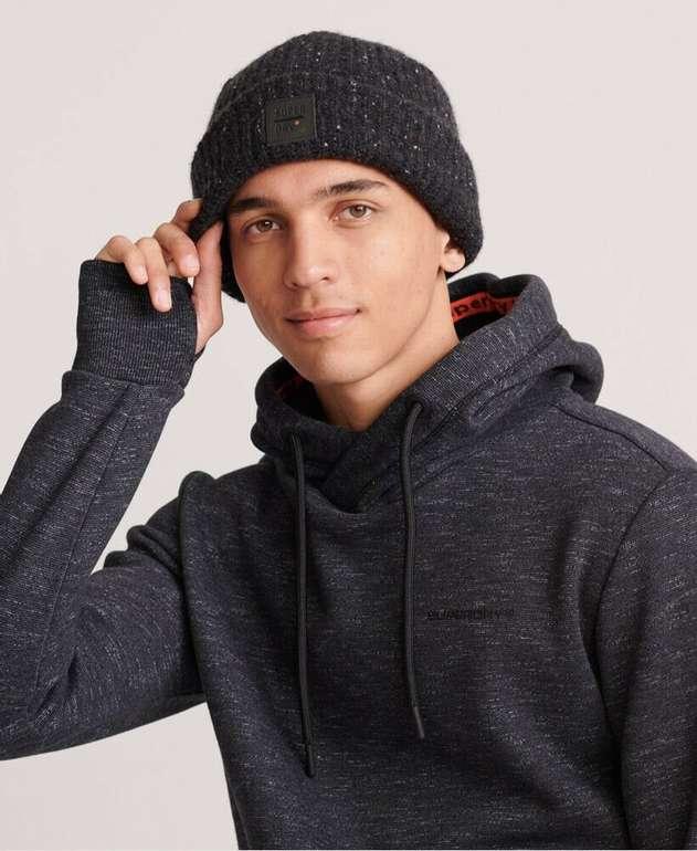 Superdry Herren Surplus Tweed Beaniemütze für 11,90€ inkl. Versand (statt 20€)