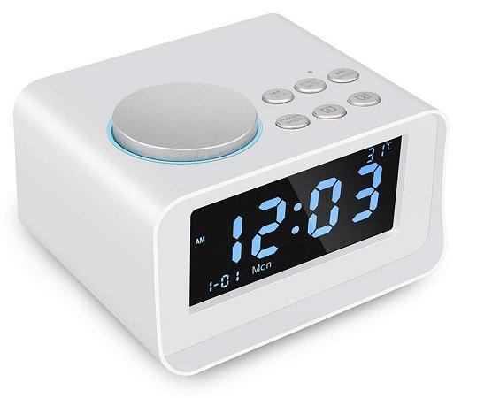 Docooler Wireless Bluetooth Lautsprecher mit Radio, LED Display & mehr zu 22,39€