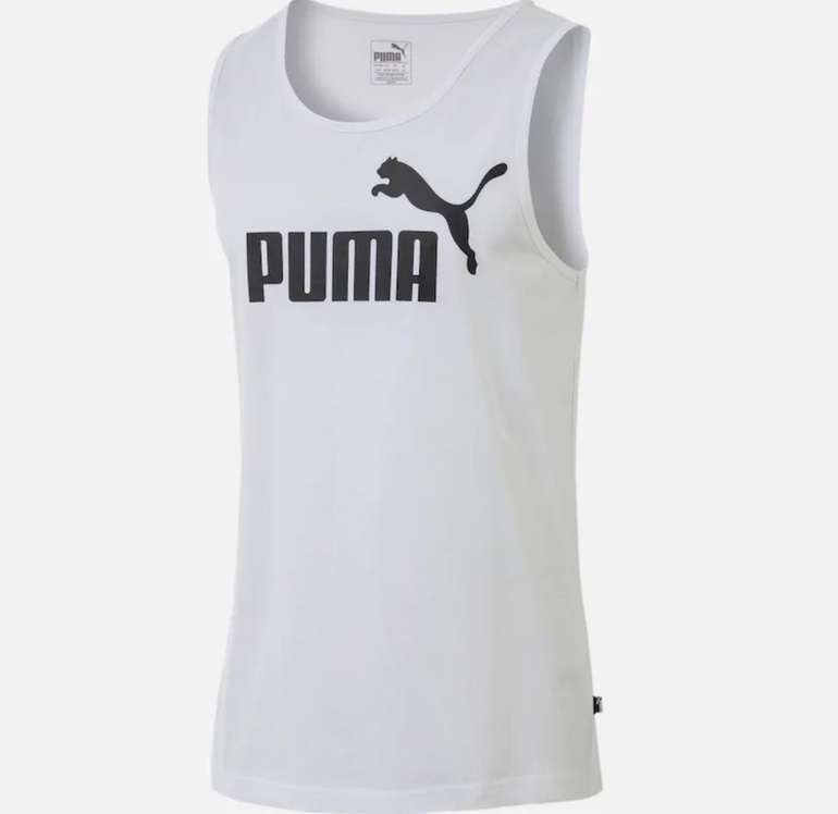 Puma Tanktop 'Essential' in schwarz / weiß für 8,07€ inkl. Versand (statt 21€)
