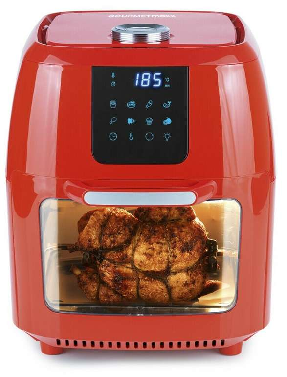 GourmetMaxx Heißluft-Friteuse (9 Liter) für 84,99€inkl. Versand (statt 110€)