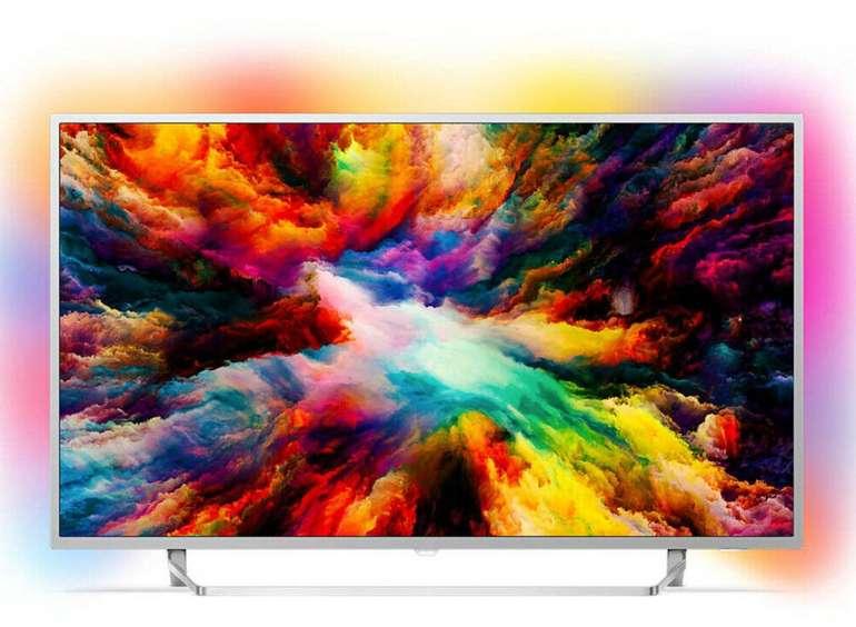 "Philips 50PUS7383 - 50"" 4K Ultra HD LED Smart-TV mit Ambilight für 444€"