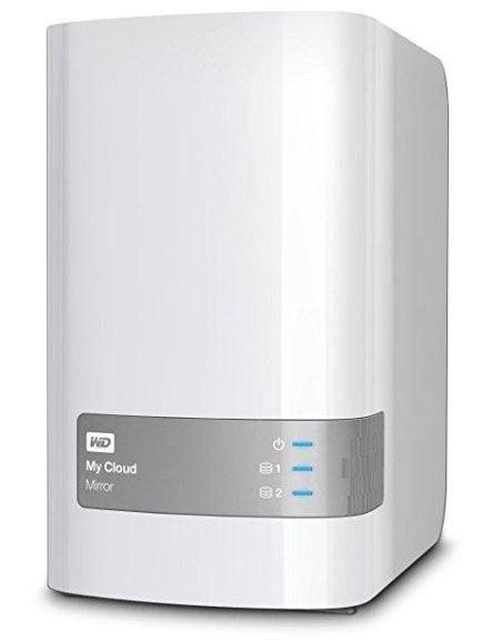 WD My Cloud Mirror Gigabit NAS-System 4TB für 219€inkl. Versand