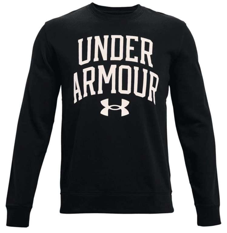 Under Armour Trainingspullover Rival Terry Crew (versch. Farben) für je 34,96€ inkl. Versand (statt 40€)