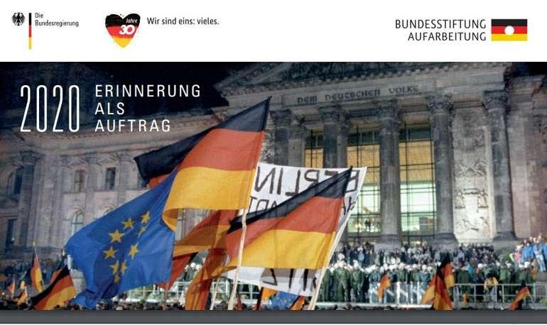"""Taschenkalender 2020 - """"Erinnerung als Auftrag"""" (BMI) kostenlos bestellen"""