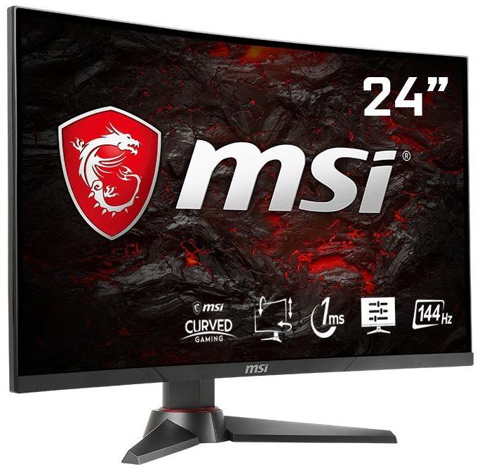 MSI Optix MAG24C-3061 Full HD Curved Monitor (144Hz, FreeSync) für 195,95€