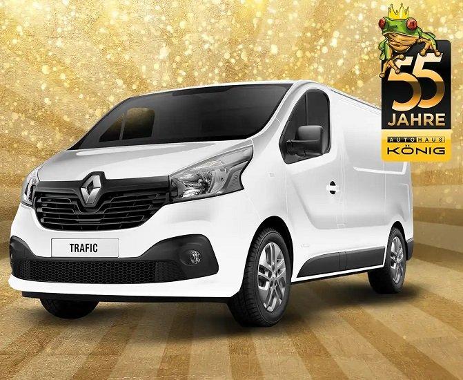 Renault Trafic Kasten 2.8 Energiy dci 95 L1H1 für 55€ mtl. im Gewerbeleasing - 12 Monate, LF: 0.21!