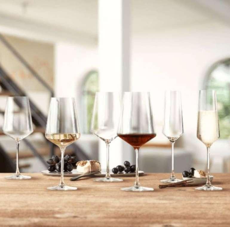 12-tlg. Leonardo Puccini Kelchglas-Set (Sekt-, Weiß- & Rotwein- Gläser) für 29€