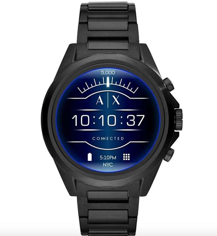 Armani AXT2002 Exchange Connected Smartwatch (1,4 Zoll, WearOS) für 132,73€ (statt 250€)