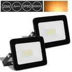 Hengda LED Fluter reduziert, z.B. 2er Pack LED Fluter mit 20W für 14,69€
