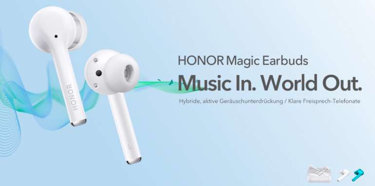Honor Magic Earbuds + Honor Router 3