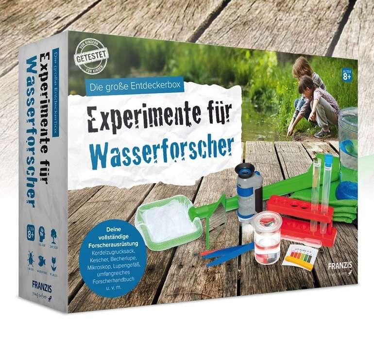 Franzis Experimente für Wasserforscher - Die große Entdeckerbox ab 8 Jahren für 16,95€ (statt 23€)