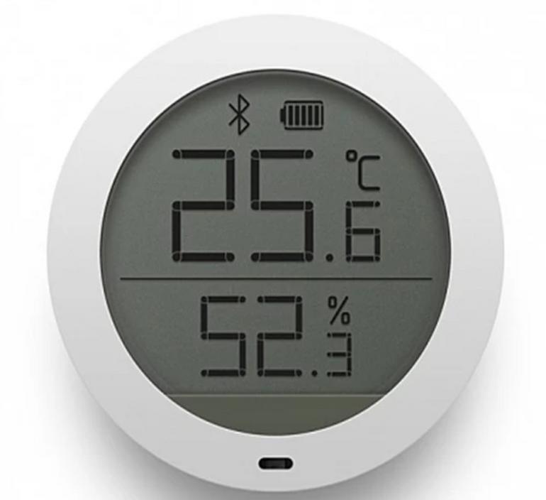 Xiaomi Mijia Bluetooth Feuchtigkeitssensor Thermometer für 10,49€ inkl. Versand