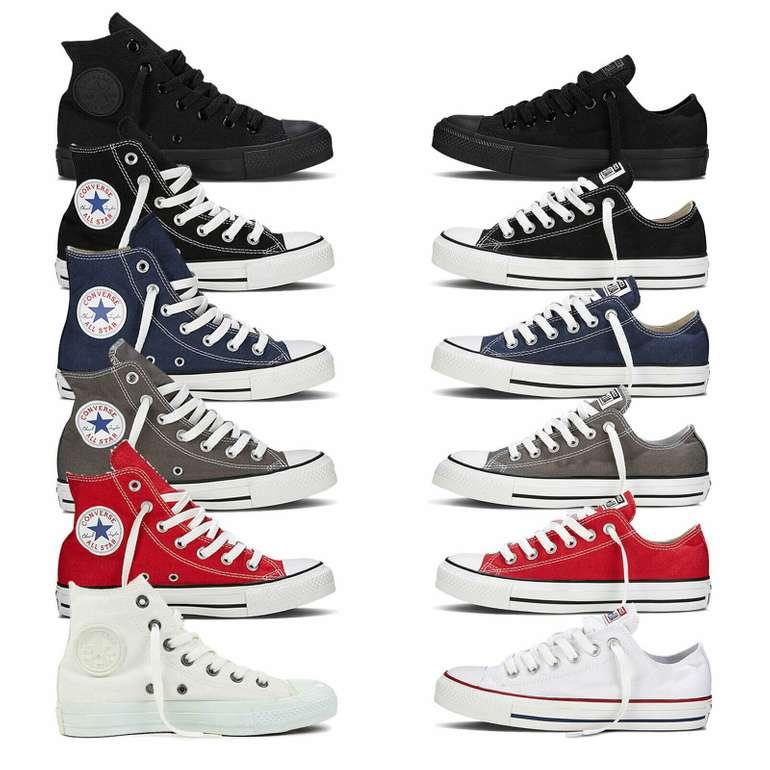 12 verschiedene Converse Chucks All Star für Damen und Herren für je 44,95€ inkl. Versand