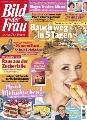 Bild der Frau im Jahresabo für 88,40€ + 75€ Bestchoice Gutschein