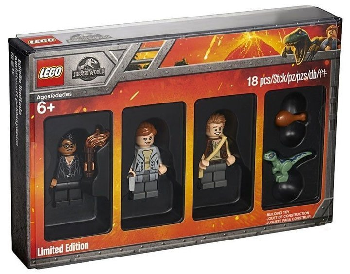 Hot! Lego 5005255 Jurassic World Limited Edition Minifigures Set + T-Shirt ab 17,48€ inkl. VSK (statt 40€)