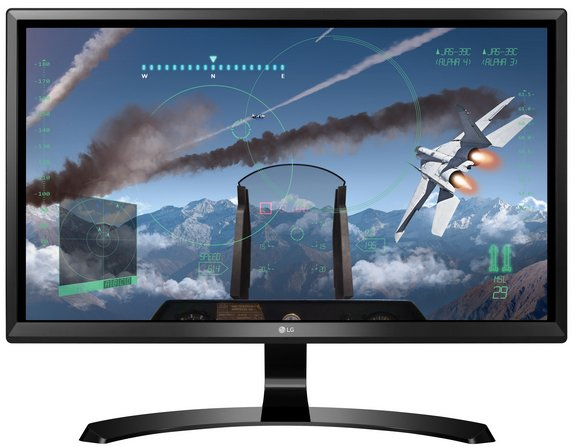 LG 24UD58-B - 24 Zoll 4K UHD LED Monitor mit IPS-Panel & FreeSync für 199,90€