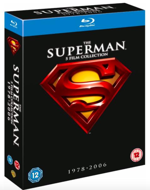 Superman - Die Spielfilm Collection 1978-2006 auf Blu-ray für 11,48€ inkl. VSK