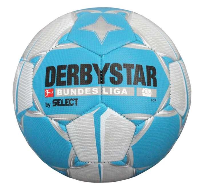 Derbystar Fussball Bundesliga Ball in Blau für 13,98€ inkl. Versand (statt 20€)