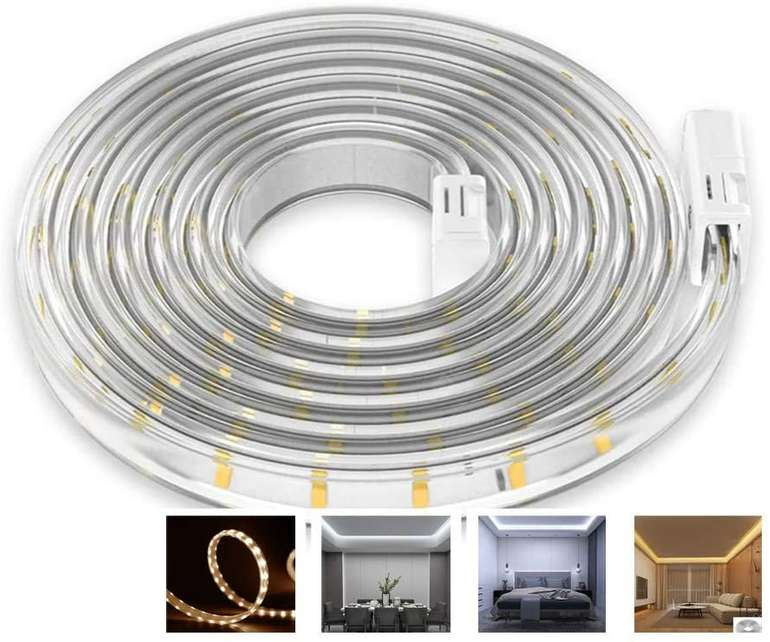 Lixada 5 Meter LED Streifen (dimmbar, 2700-6500K) für 14€ inkl. Versand (statt 40€)
