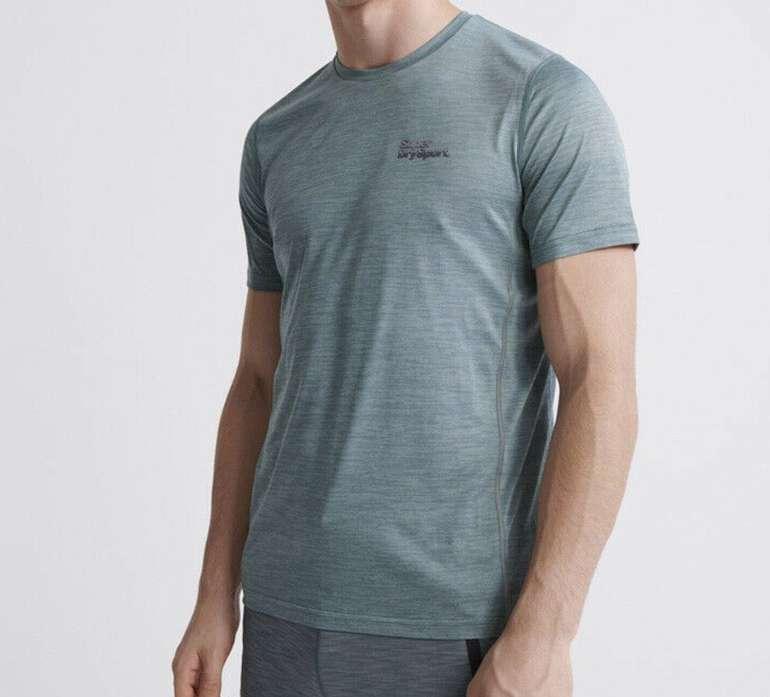 Superdry Herren Training T-Shirt für 12€ inkl. Versand (statt 23€)