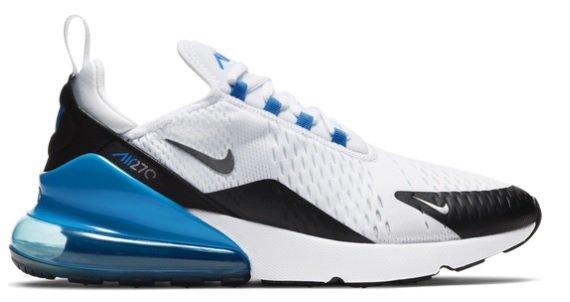 Nike Air Max 270 in Blau / Schwarz für 99,99€ inkl. Versand (statt 126€)