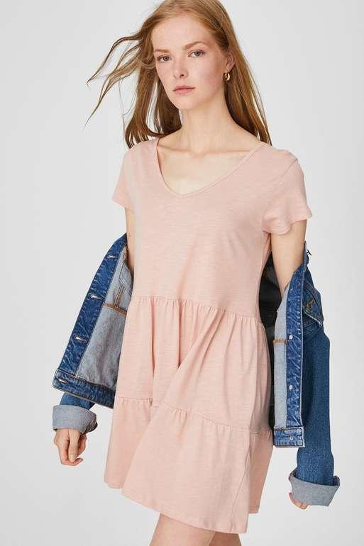 C&A Sale mit bis zu 50% Rabatt + 20% Extrarabatt auf Sommerstyles (19€ MBW) - z.B. Bio Baumwollkleid für 6,39€