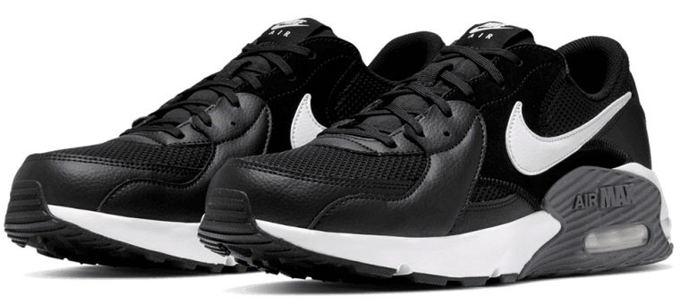 Nike Air Max Excee Sneaker in Schwarz/Weiß für 69,95€ (statt 114€)