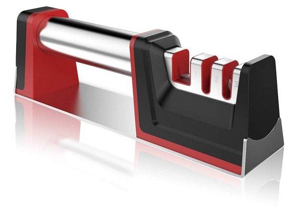 YIKANWEN Messerschärfer – manueller 3-Stufen-Messerschleifer für 12,99€ (Prime)