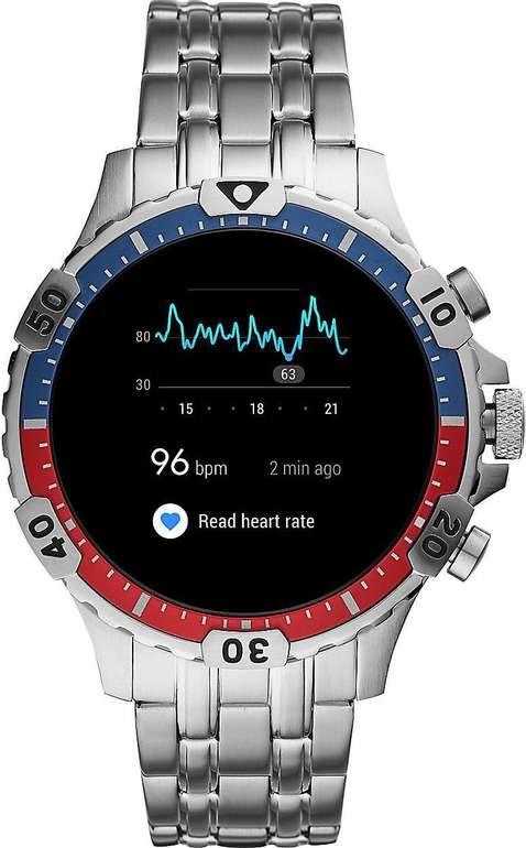 Fossil FTW4040 Garrett HR Smartwatch (Gen. 5) Edelstahl für 88,65€ (statt 207€)
