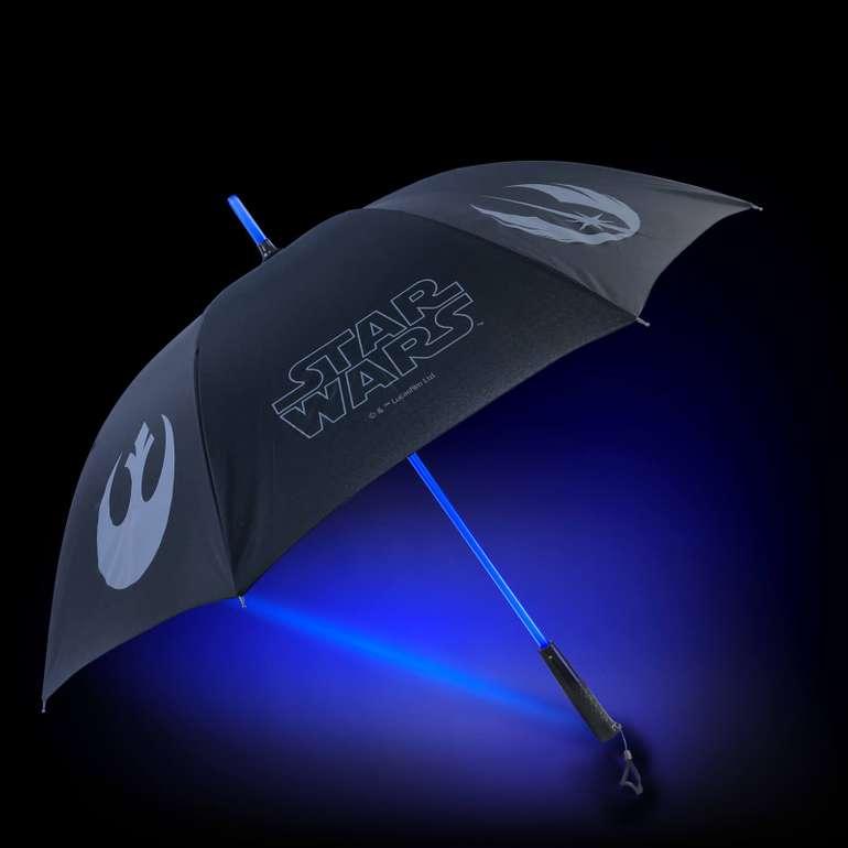 Star Wars Bundle: Laserschwert-Regenschirm + Pullover für 36,99€ (statt 56€)