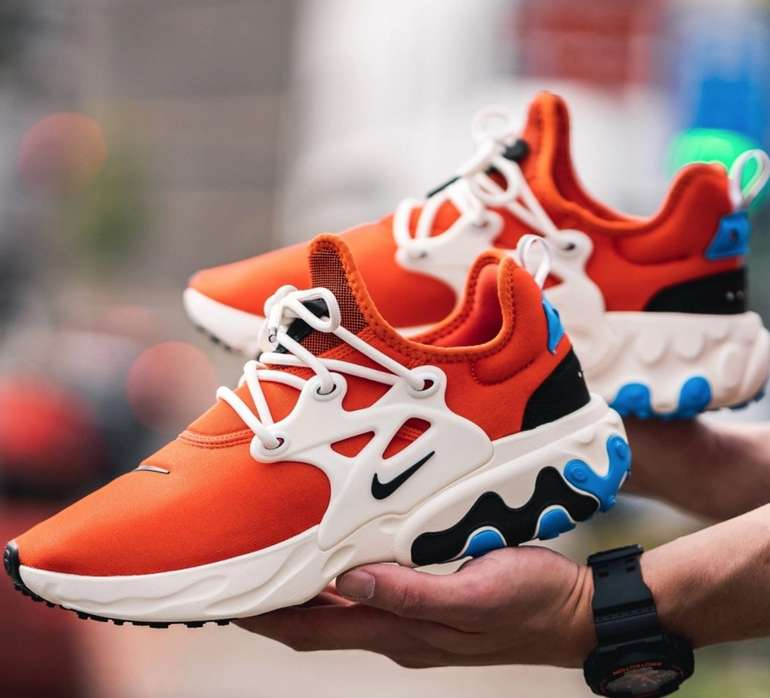 Sneaker Sale bei 43einhalb + 25% Extra - z.B. Nike React Presto Cosmic Clay für 72,75€ (statt 97€)