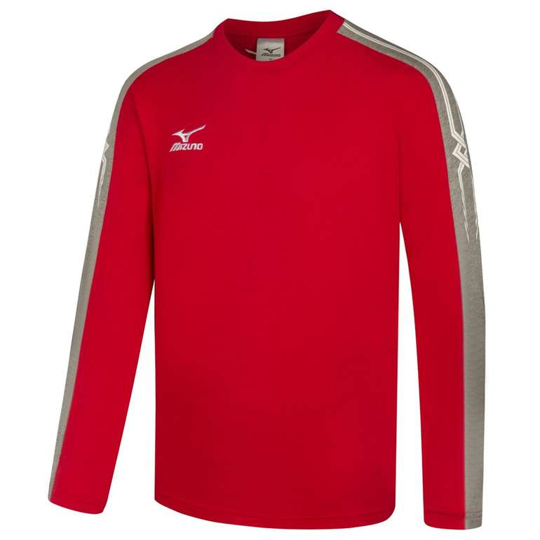 Mizuno Pro Team Trainings Volleyball Langarm Shirt für 15,94€ (statt 20€)
