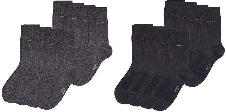 8er Pack Camano Unisex CA-Soft Socken