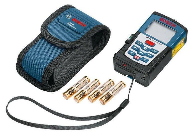 Bosch DLE 70 Laser-Entfernungsmesser für 67,99€ inkl. Versand (statt 80€)