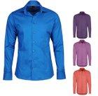 Pure Uni Design - Herren Business Hemden mit Kent Kragen für je 19,99€