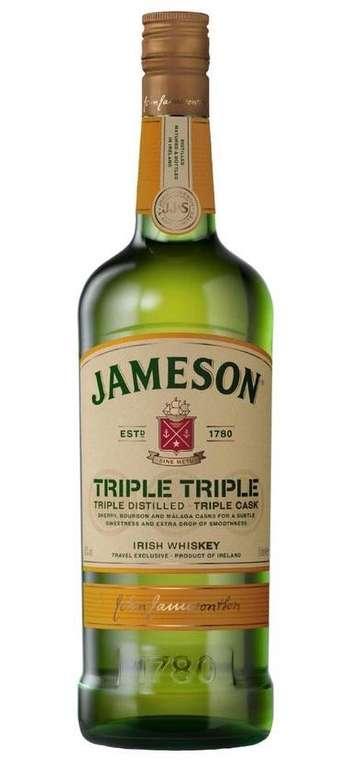 Jameson Triple Triple Irish Whiskey (40%, 1 Liter) für 25,90€ inkl. Versand (statt 36€)