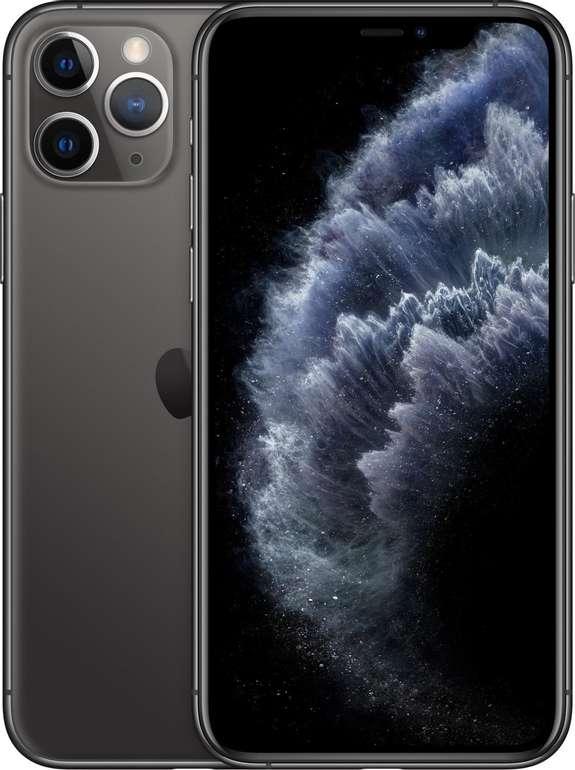 Apple iPhone 11 Pro (4,95€)  mit o2-Vertrag (5G LTE, Allnet-Flat & SMS-Flat) für 59,99€  mtl.