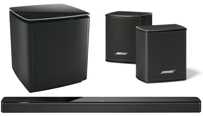 Bose Soundbar 700 mit Bass Module + Surround Lautsprecher für 1.249€ (statt 1.502€)
