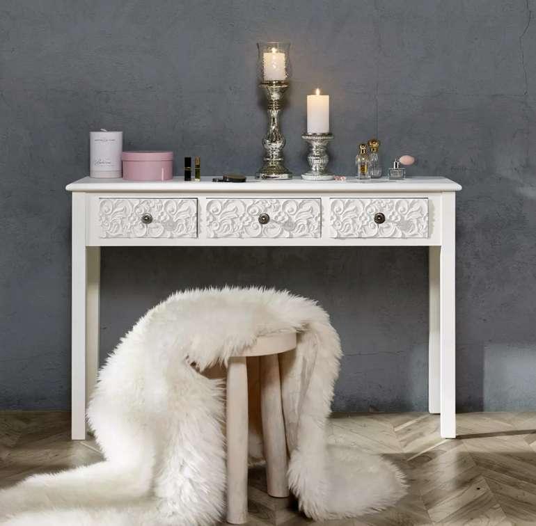 """Bessagi Home Konsole """"Avery"""" in Weiß für 96,25€ inkl. Versand (statt 179€)"""
