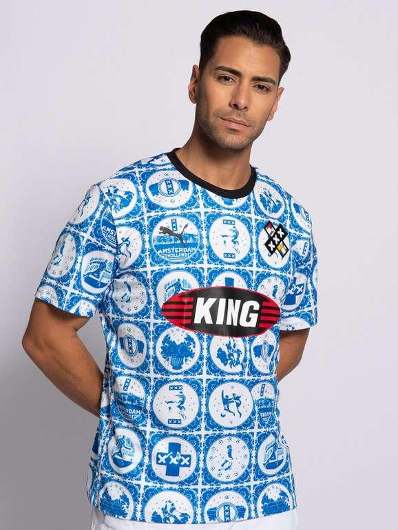 Puma T-Shirt Amsterdam Jersey in blau oder rot für 21,56€ inkl. Versand (statt 32€) - MBW 29,99€!