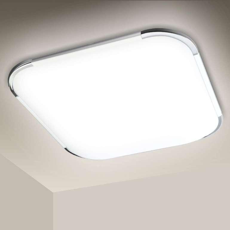 verschiedene Hengda LED Deckenleuchten in kaltweiß (6500K) z.B. 12 Watt für 12,91€