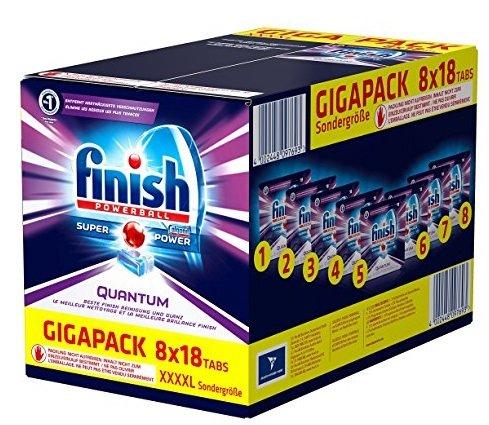 144er Pack Calgonit Finish Powerball Quantum Gigapack für 19,99€ mit Prime